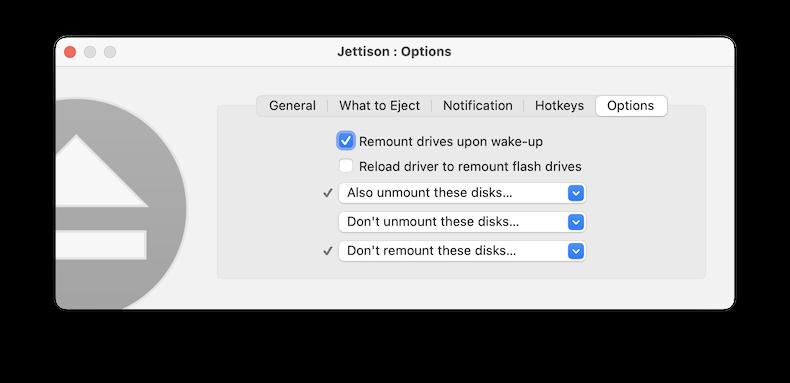 Jettison FAQ